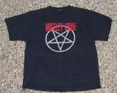Vintage Black Motley Crew T -Shirt  - Americana -  Size XL