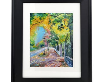 Fall Alley I - 8x10 print on archival paper