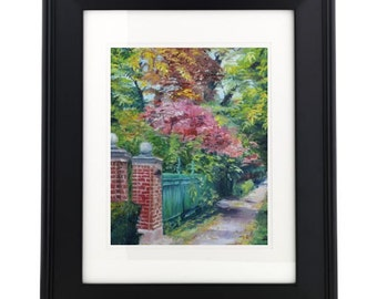 Fall Alley II - 5x7 print on archival paper