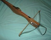 Medieval CROSSBOW / 5 pcs bolts /  2 pcs stringer / to 40 pounds