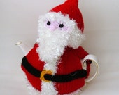 Knitted Father Christmas  Santa Claus tea cosy