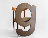 Wood Letters G - Wall Hanging, Nursery, Wedding, Baby Name