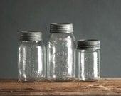 Vintage Mason Jar Collection - Crown, Ball, Mid Century, Modern, Retro, Kitchen
