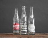 Vintage Pop Bottle Collection - Vase, Mid Century, Modern, Kitchen, Flower