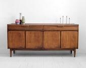 Mid Century Credenza - Modern, Dresser, Retro, Cabinet, Buffet, Danish