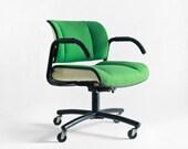 Vintage Office Swivel Chair - Mid Century, Modern, Retro, Desk
