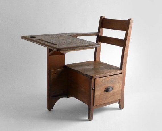 Vintage Children's School Desk 570 x 461