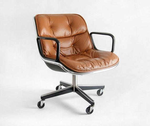 Items similar to Vintage Knoll Pollock Executive Armchair