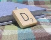 1 Scrabble Tile Pendant.  Choose your letter.