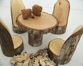 A Little Woodland Fairy Table Set