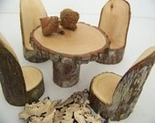 Little Woodland Fairy Table Set