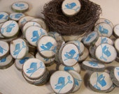 Little Bird  Wood Gift Tags