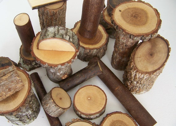 Old School Nature Tree Wood Blocks