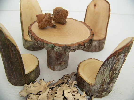 Little Woodland Fairy Table Set