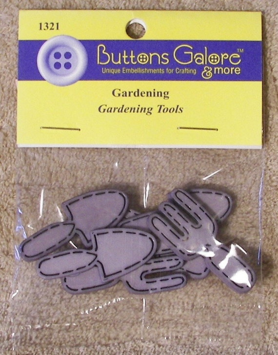 On sale gardening tools buttons from countryhodgepodge on for Gardening tools on sale