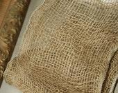 Burlap Strip Fabric by the Yard