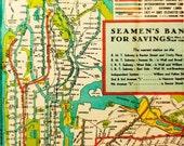 New York Trasit Map - 2 Coaster Set