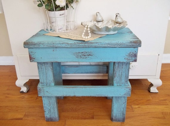 Sweet Garden Bench...Side Table