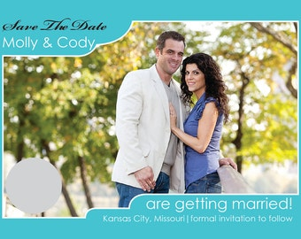 """Save The Date Scratch Off 4 x 6"""" Engagement Announcement / Wedding Save the Date (100 qty)"""