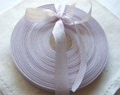 Vintage 1930's-40's French Woven Ribbon -Milliners Stock- 5/8 inch Soft Orchid