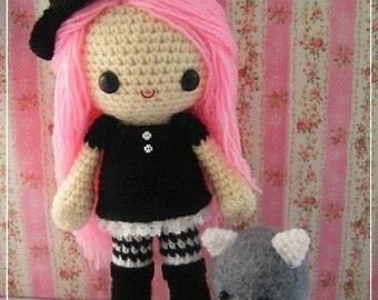 PDF Crochet Pattern - Grace the witch