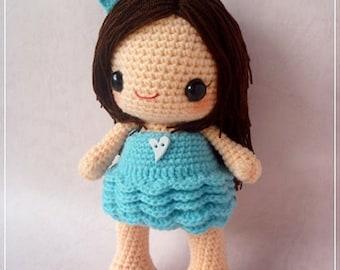 PDF Crochet Pattern - Bella