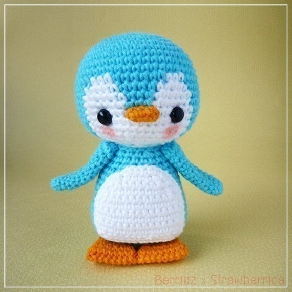 PDF Crochet Pattern - Pen-Pen the Penguin