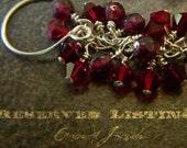 RESERVED FOR FANSHEFOLDS -Snowflake Obsidian and Onyx  Herringbone Weave Bracelet