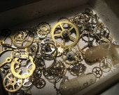 Junk Drawer of Gears and Sprockets