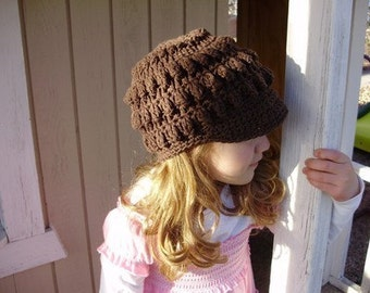 Choclate Popcorn beanie, 5T-preteen see shop for colors and sizes
