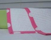 Pink Polka Dot All Purpose Wash Cloths