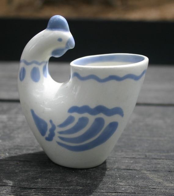 USSR Rooster Vase Egg Cup