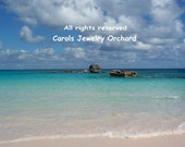 Fine Art Photographic Print - Beautiful Bermuda Beach - Pink Sands and Turquoise Waters