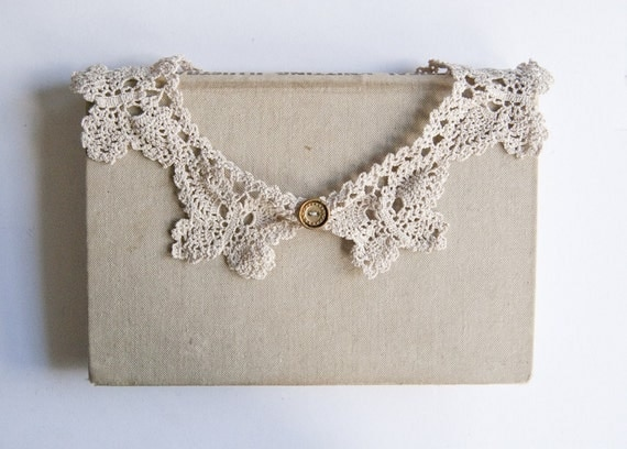 Emily - lace collar necklace