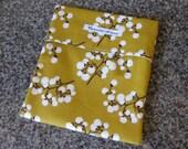 Eco Friendly Snack/Sandwich Bag - Apricot Blossoms