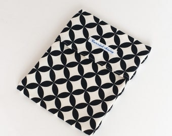 Eco Friendly Snack/Sandwich Bag - Circles and Diamonds