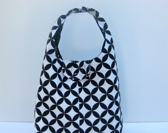 Insulated Lunch Bag - Circles and Diamonds