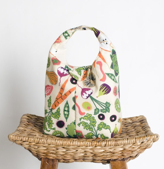 Eat Your Fruits And Veggies - Eco Friendly Insulated Lunch Bag