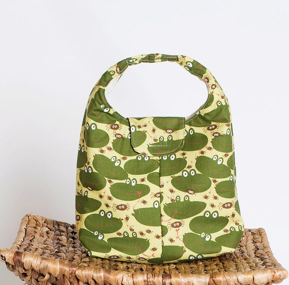 Lunch Bag Insulated Eco Friendly - Frog Chow