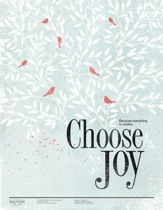 Choose Joy 13x19 -Pep Art- Collection