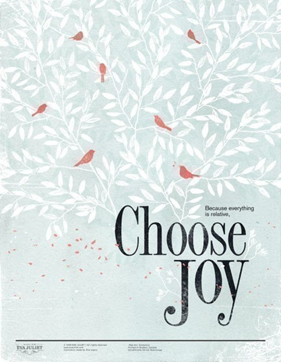 Choose Joy 8.5x11 -Pep Art- Collection