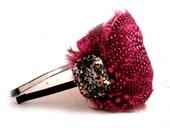 Bachelorette Party Feather Headband