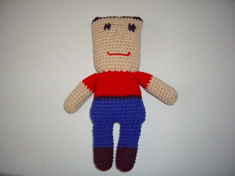 pattern my buddy my pal doll from crochetbysandi on etsy