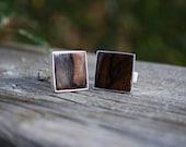 Ziricote Inlay Cufflinks