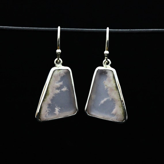 Mark Garbarini Sterling Silver Rose Quartz Earrings