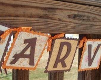 Fall Banner, Thanksgiving Banner, Autumn Banner, Holiday Banner