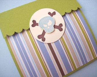 Pirate Invitations, Pirate Birthday Invitations - Set of 8