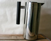 Vintage Modern Thermal Pitcher Stainless Steel Coffee Server