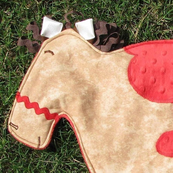 Horse Minky Lovie Buddy...FREE NAME EMBROIDERY
