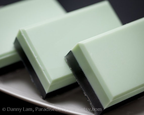 Absinthe soap - shea butter & olive oil soap - Anise, Sugar, Juniper - SHOP CLOSING SALE